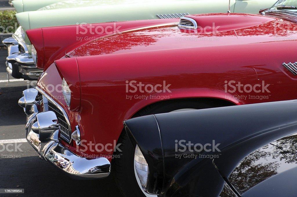 Ford Thunderbirds stock photo