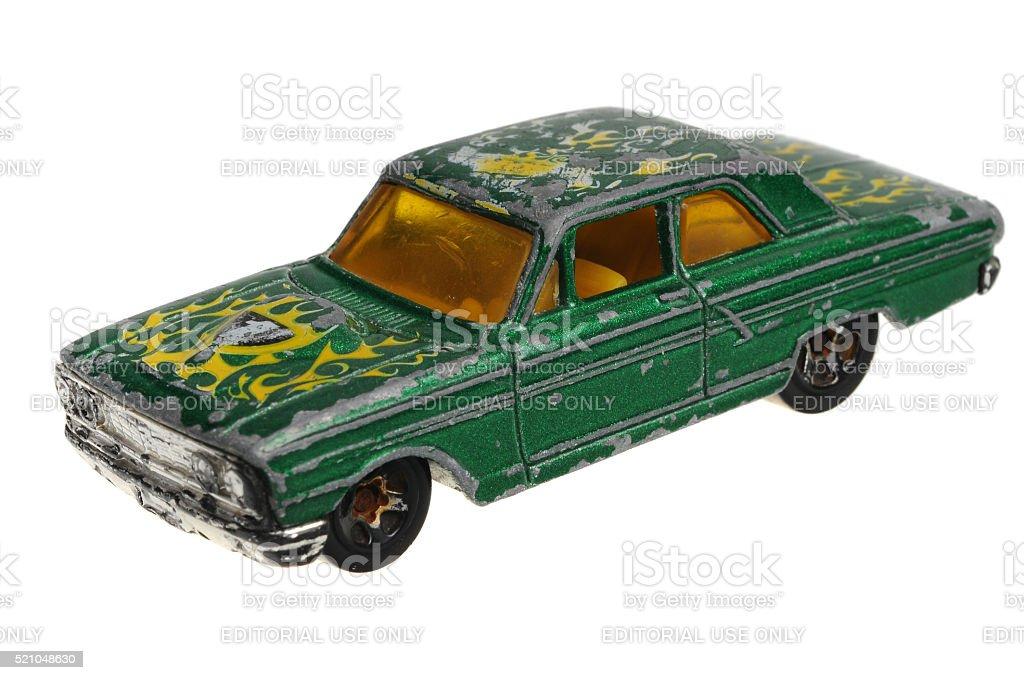 2001 Ford Thunderbolt Hot Wheels stock photo