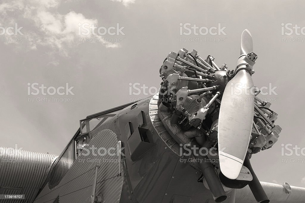 Ford Trimotor, Classic Airliner royalty-free stock photo