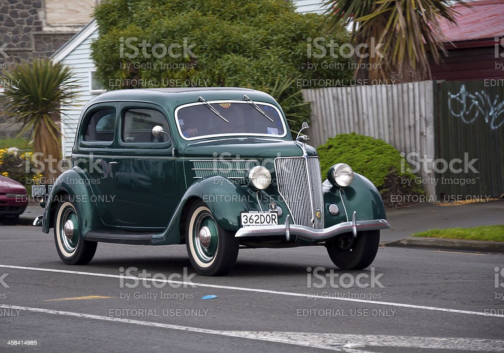 Ford Tudor from 1935 royalty-free stock photo