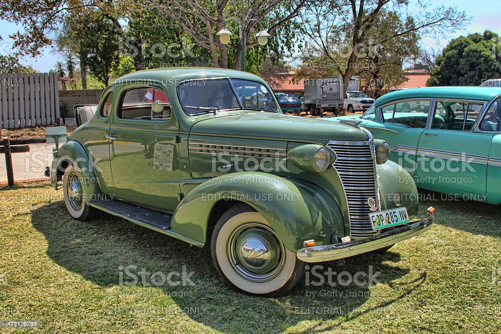 1936 Ford Two-Door Coupe with Rumble Seat royalty-free stock photo