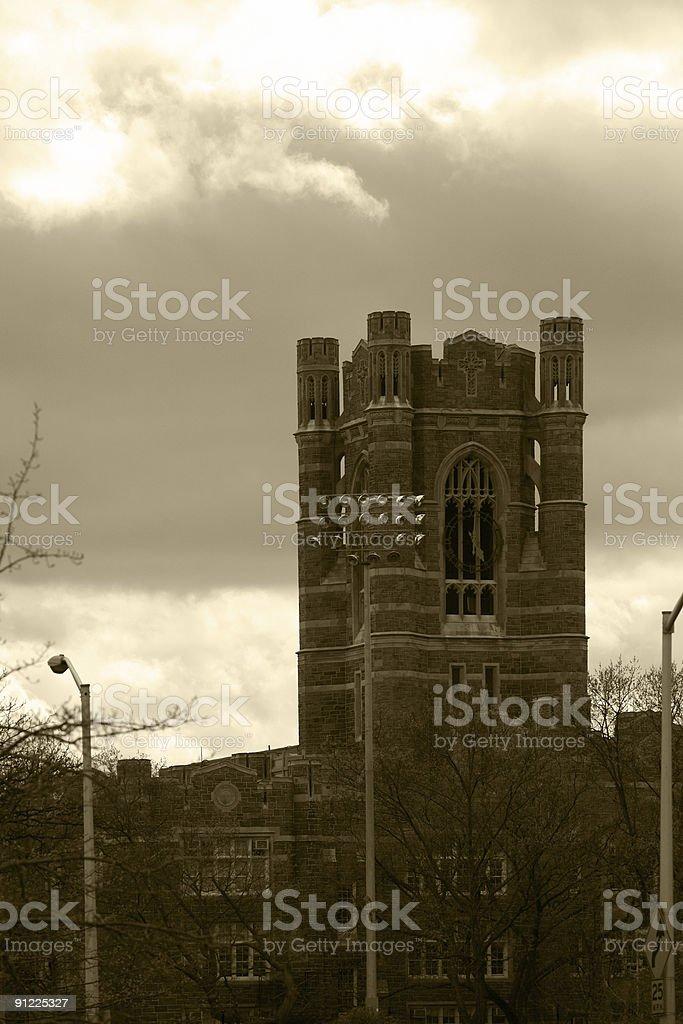 Fordham University royalty-free stock photo