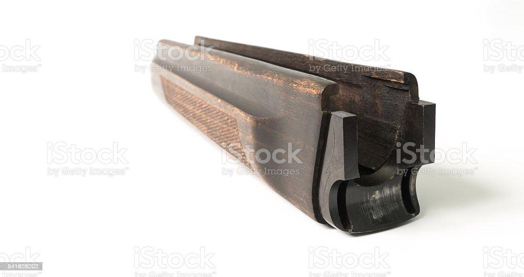 forearm from shotgun stock photo