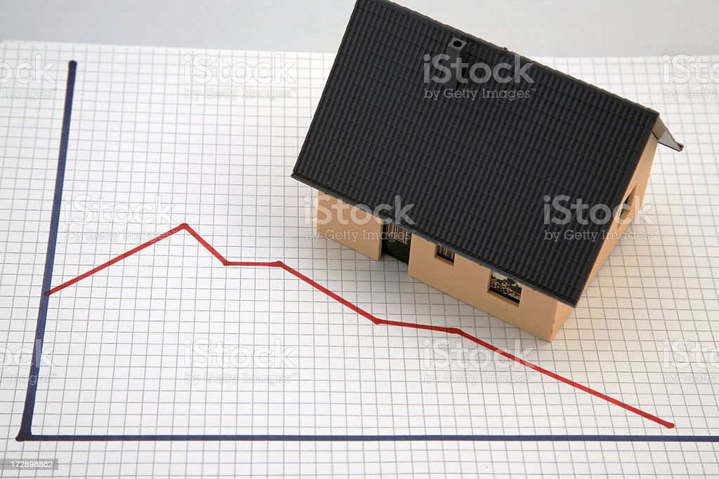 Foreclosure crisis royalty-free stock photo
