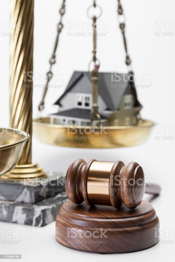 Foreclosure stock photo
