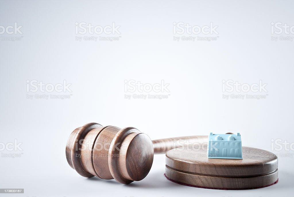 Foreclosure Sale stock photo