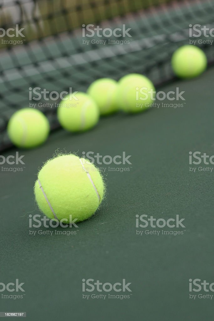 Foreground balls royalty-free stock photo