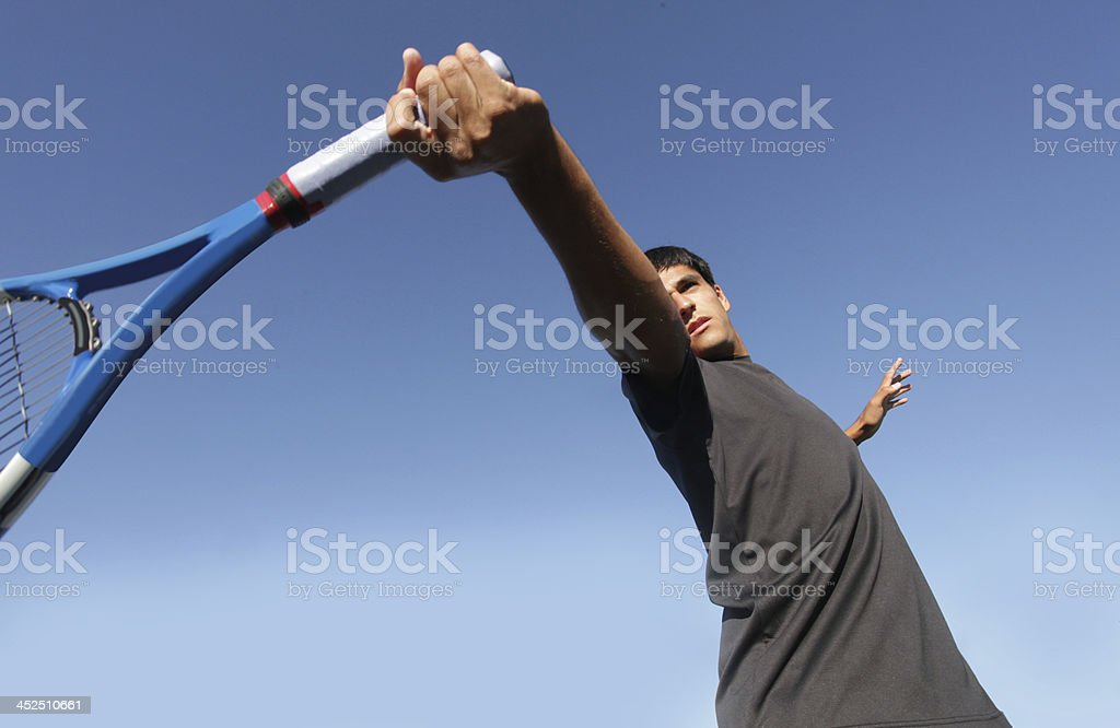 forehand form stock photo