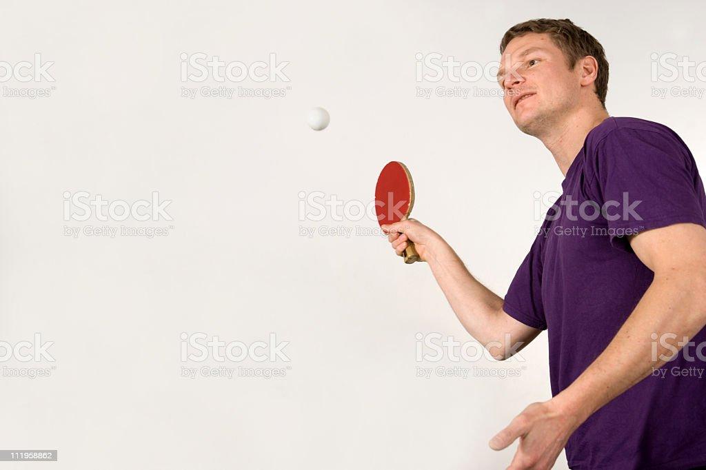 Forehand stroke royalty-free stock photo
