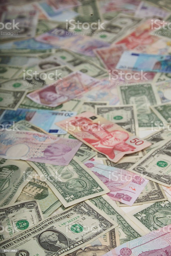foreign money royalty-free stock photo