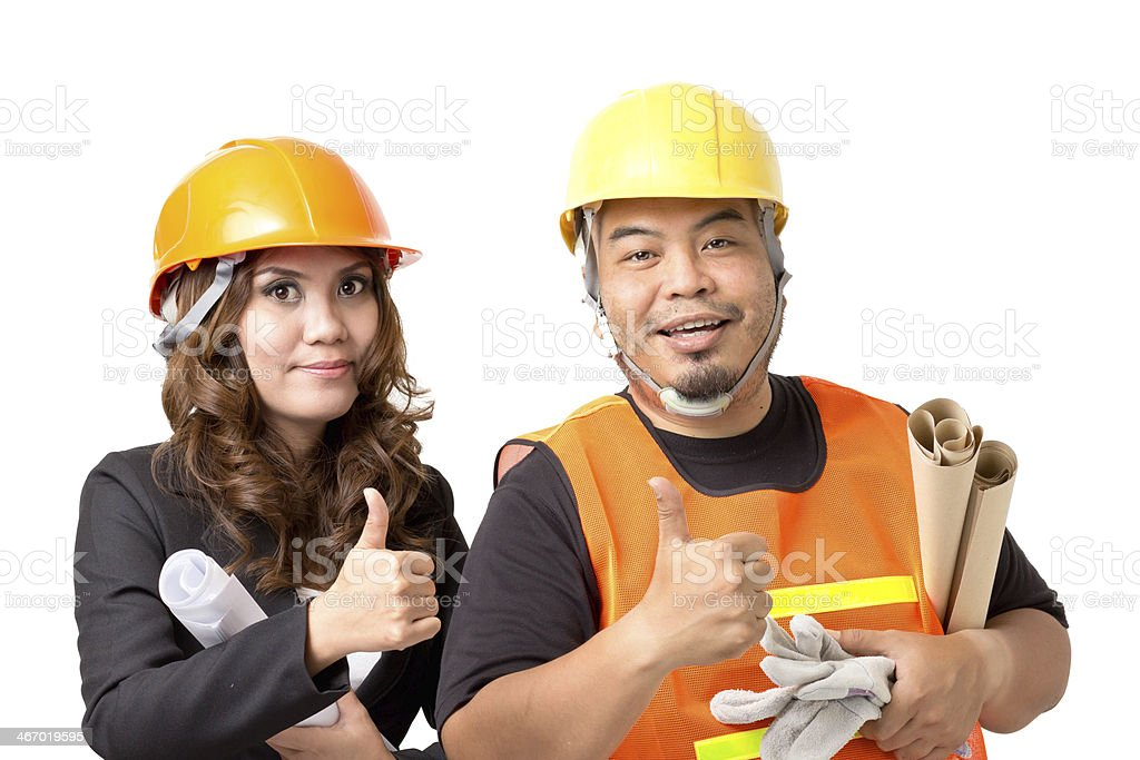 foreman royalty-free stock photo