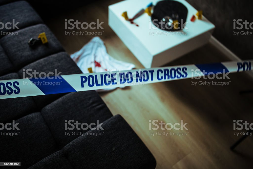 Forensic Evidence stock photo