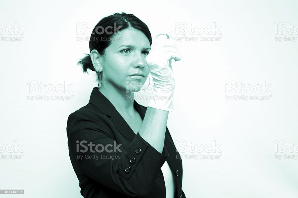 Forensic Investigator -3 royalty-free stock photo