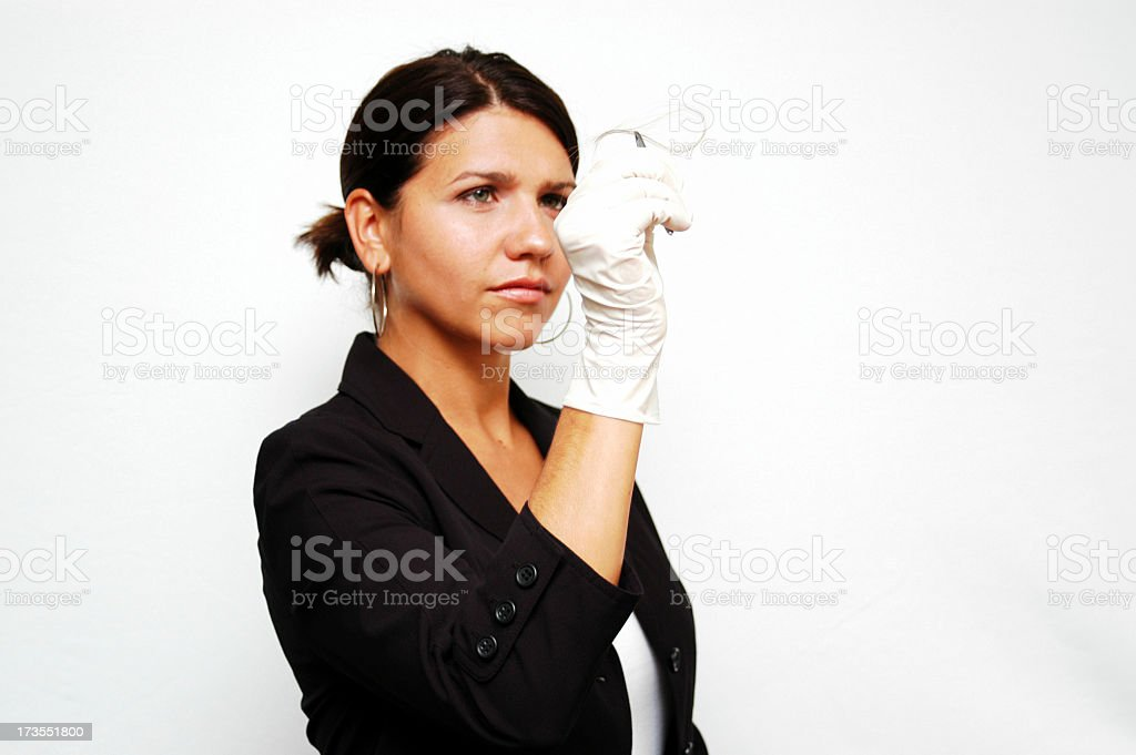 Forensic -Medical -Investigate stock photo