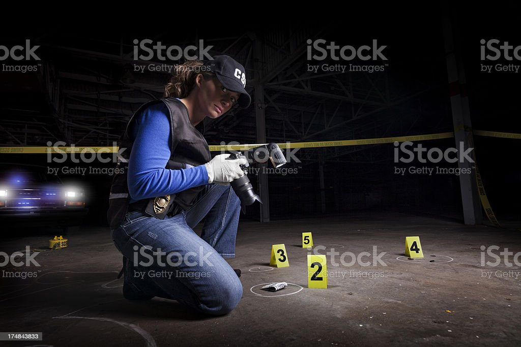 forensic royalty-free stock photo