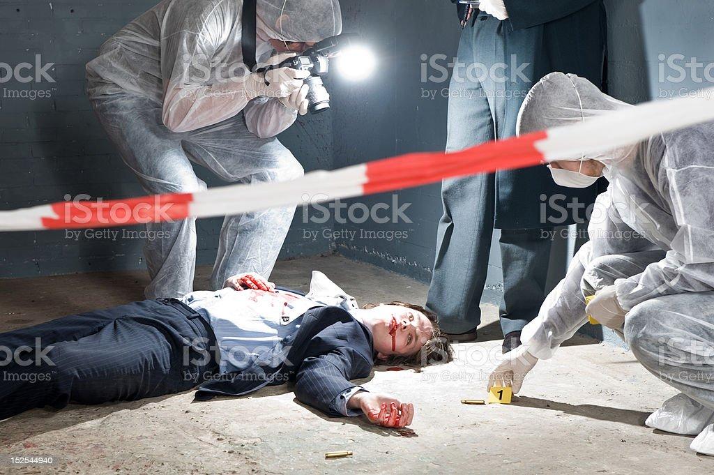Forensic Team stock photo