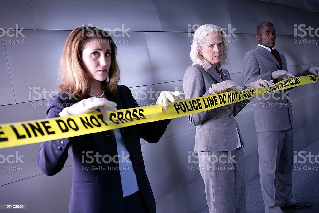 Forensics royalty-free stock photo