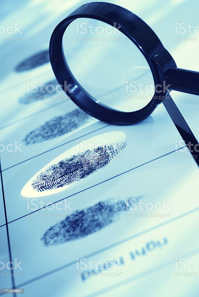 Forensics Science royalty-free stock photo