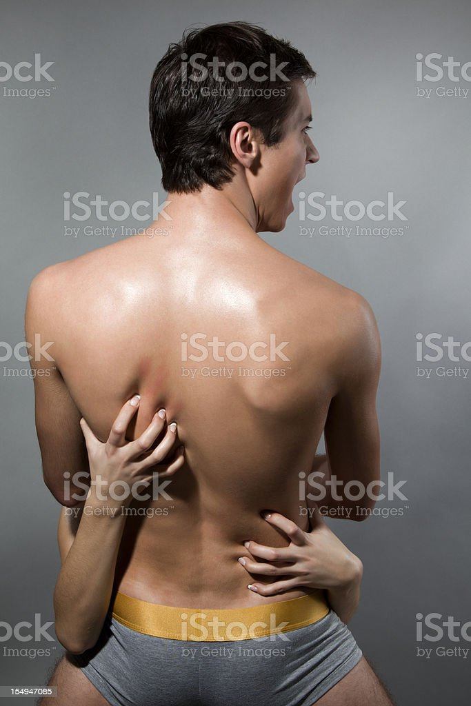 Foreplay royalty-free stock photo