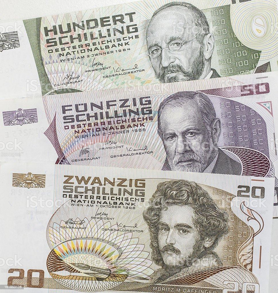 forerunner of european Euro stock photo
