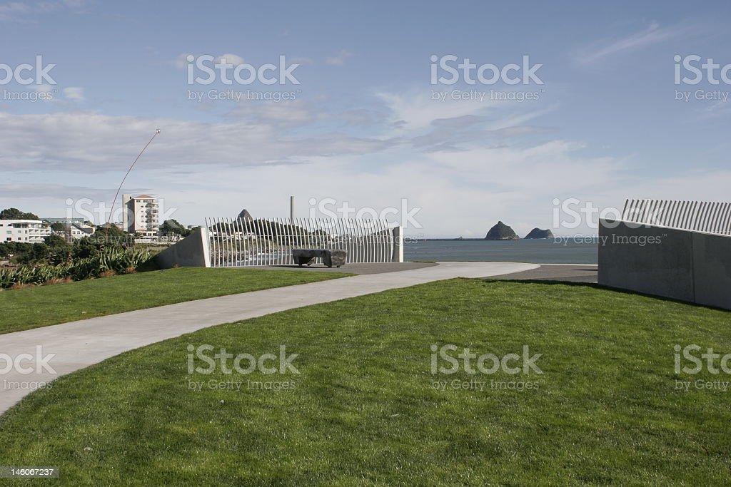 Foreshore Walkway stock photo
