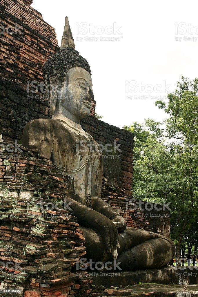 forest buddha royalty-free stock photo