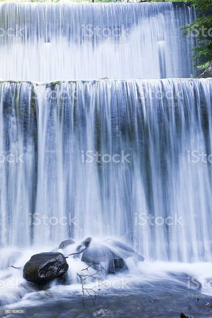 Forest Dam royalty-free stock photo