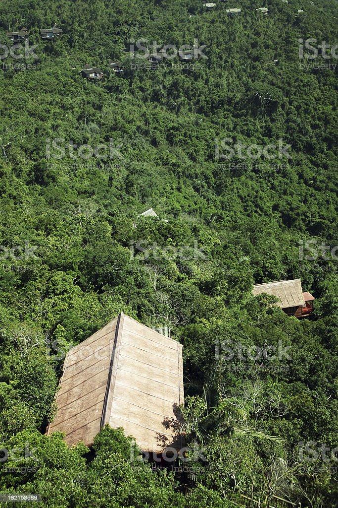 Forest House - XXLarge stock photo