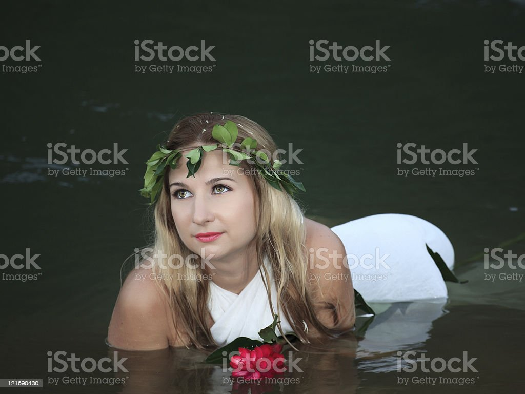 Forest nymph royalty-free stock photo