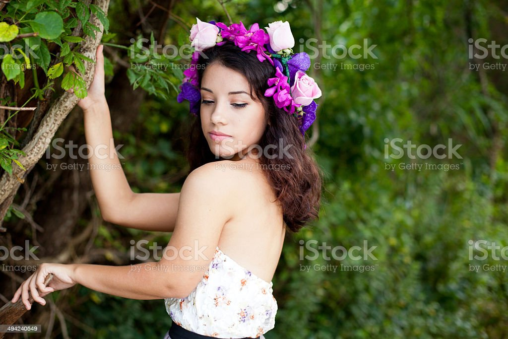 Forest Nymph stock photo
