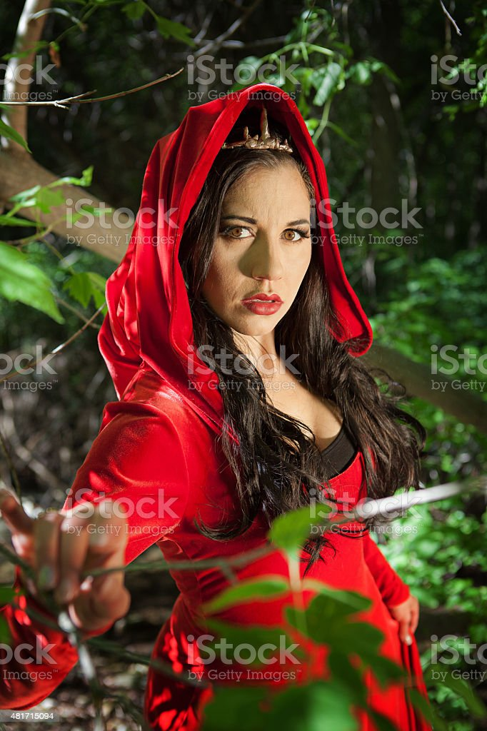 Forest Queen stock photo
