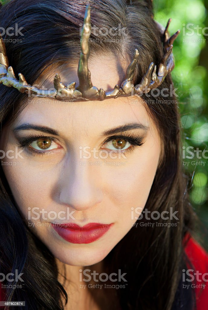 Forest Queen (Portrait) stock photo