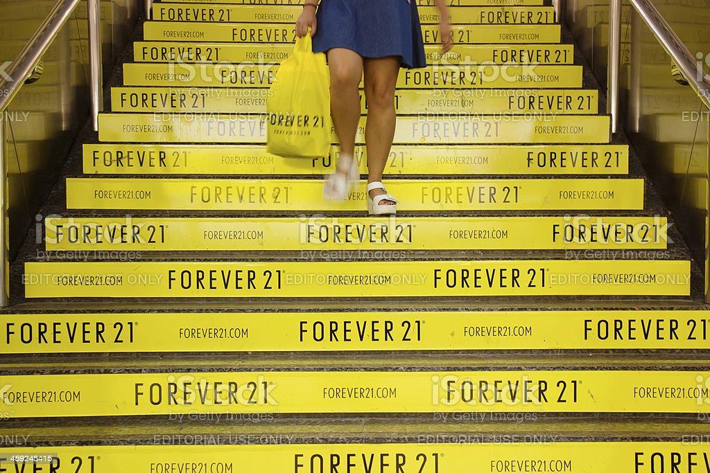 Forever 21 stock photo