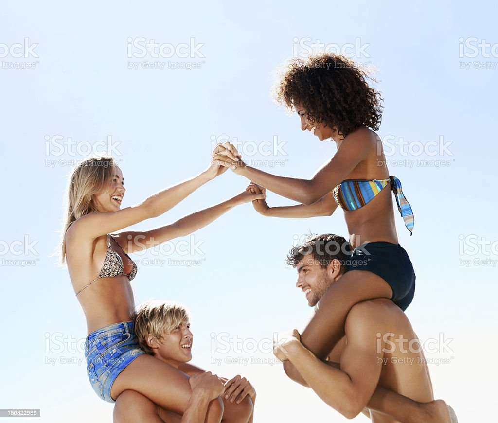 Forever friends royalty-free stock photo
