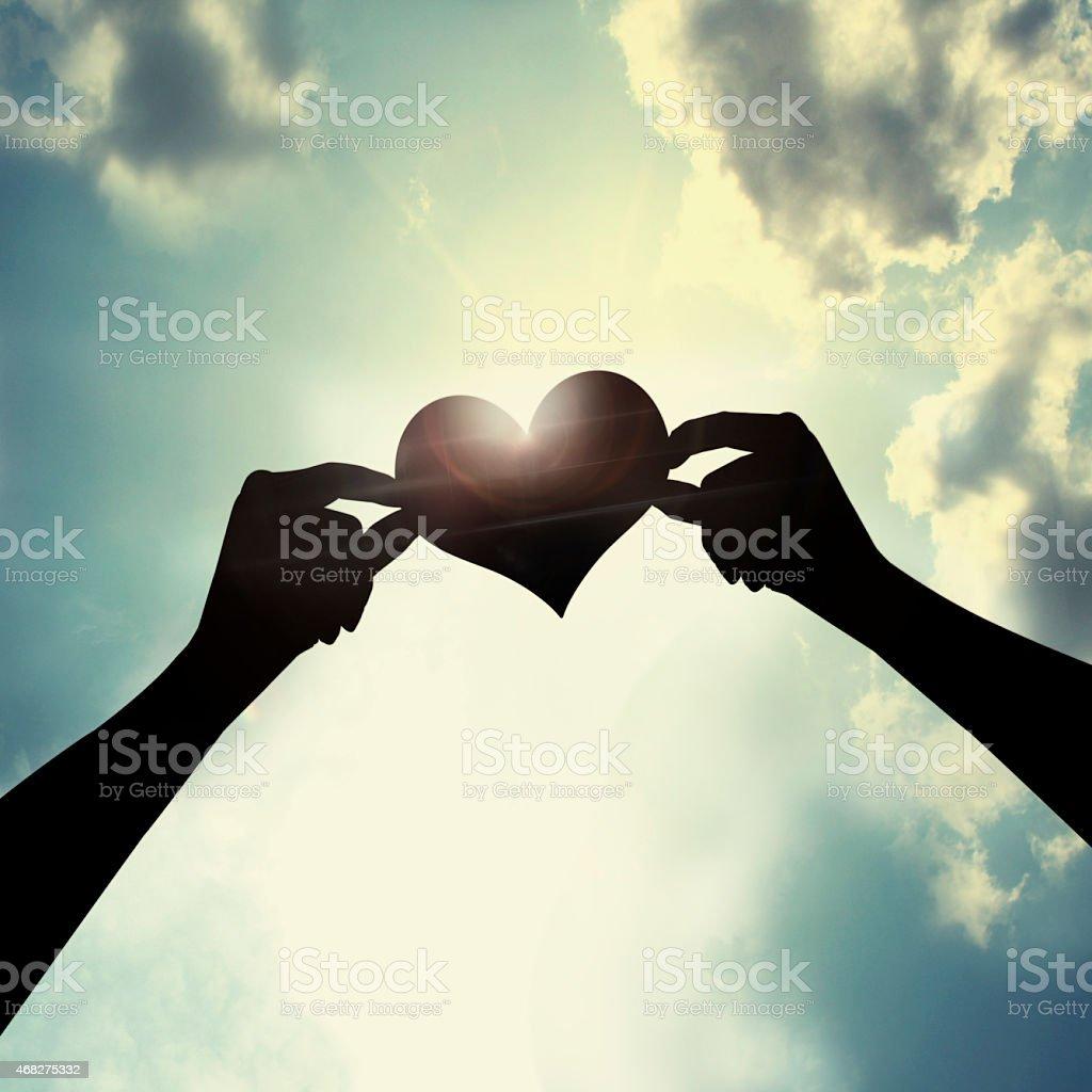 Forever love stock photo