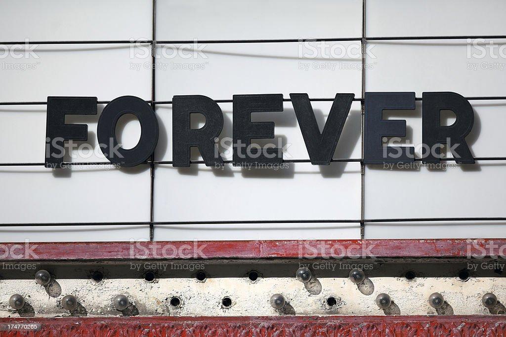 Forever stock photo