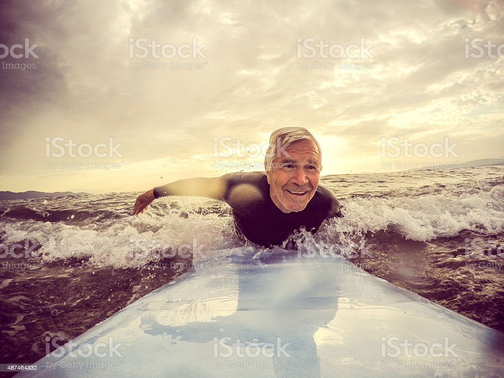 Forever young stock photo