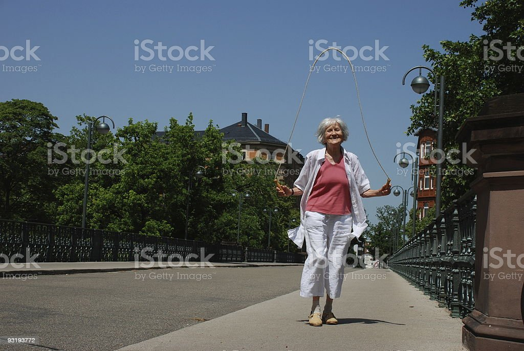 Forever young? stock photo