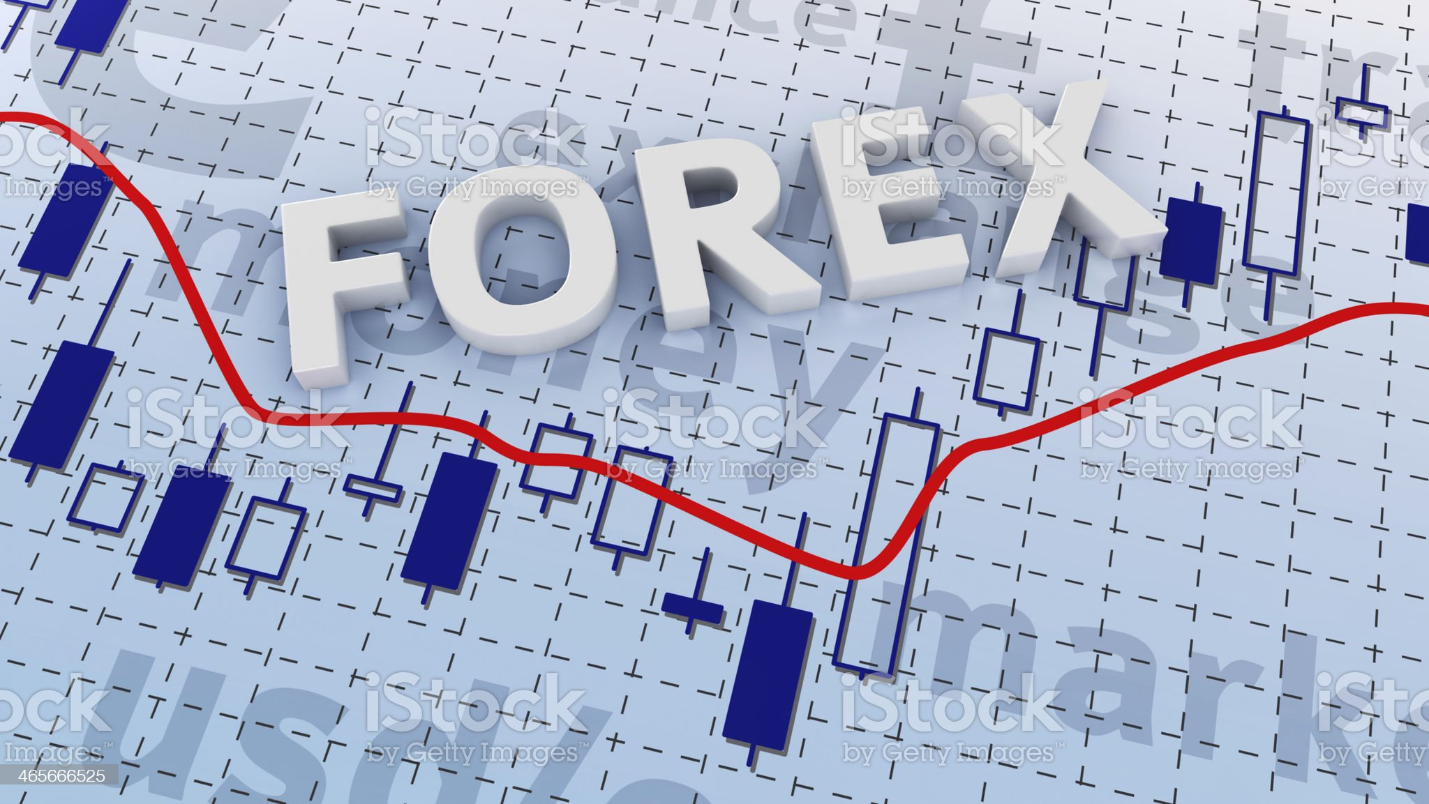 Forex trading royalty-free stock photo
