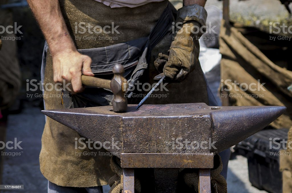 forge royalty-free stock photo