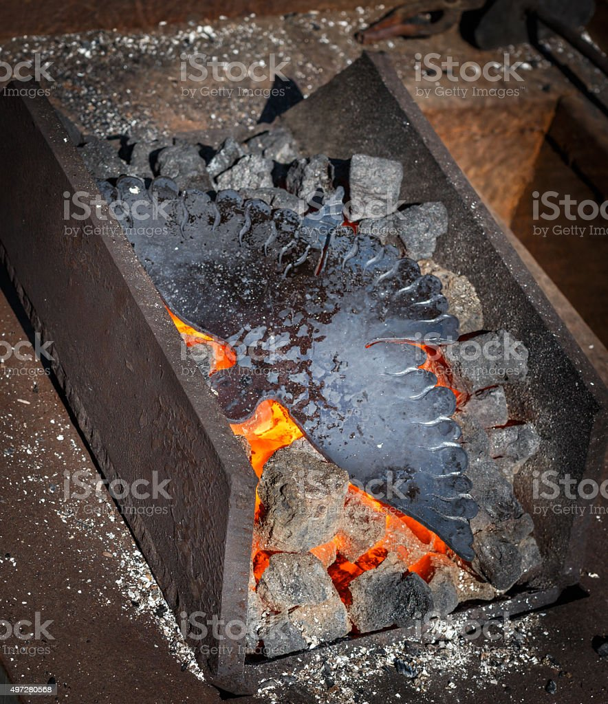 Forged dove stock photo