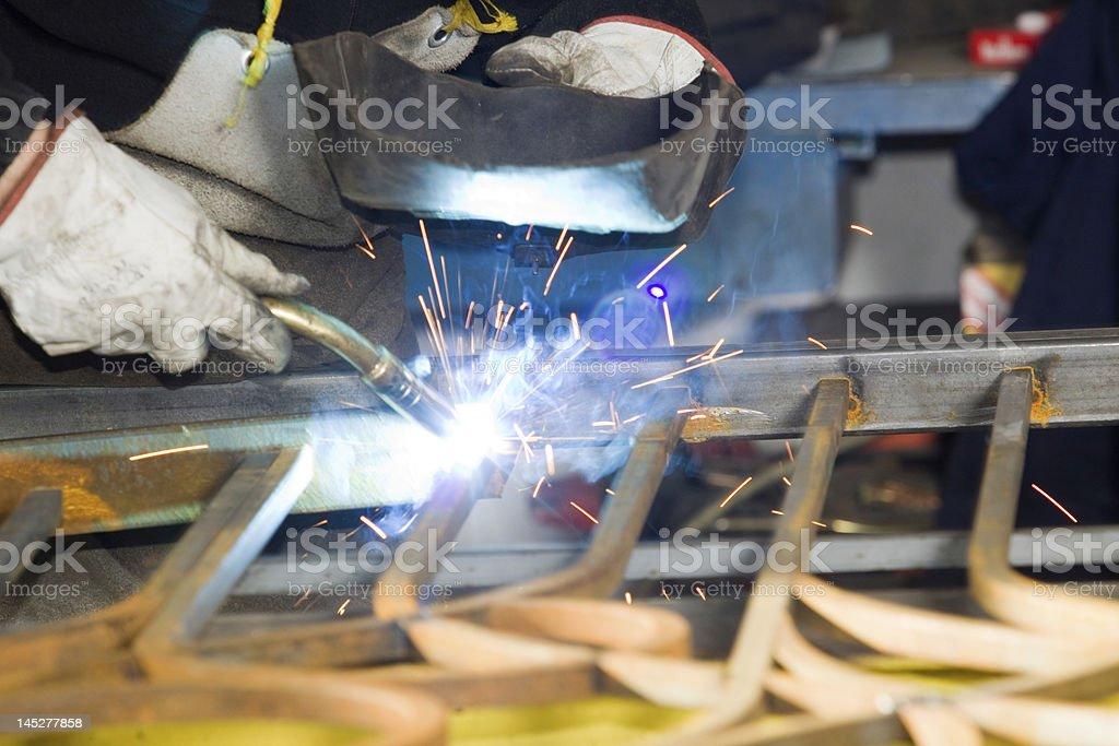 forging iron royalty-free stock photo
