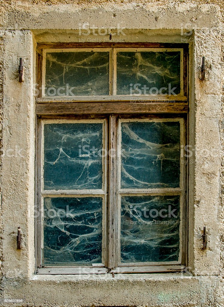 Forgoten Window stock photo