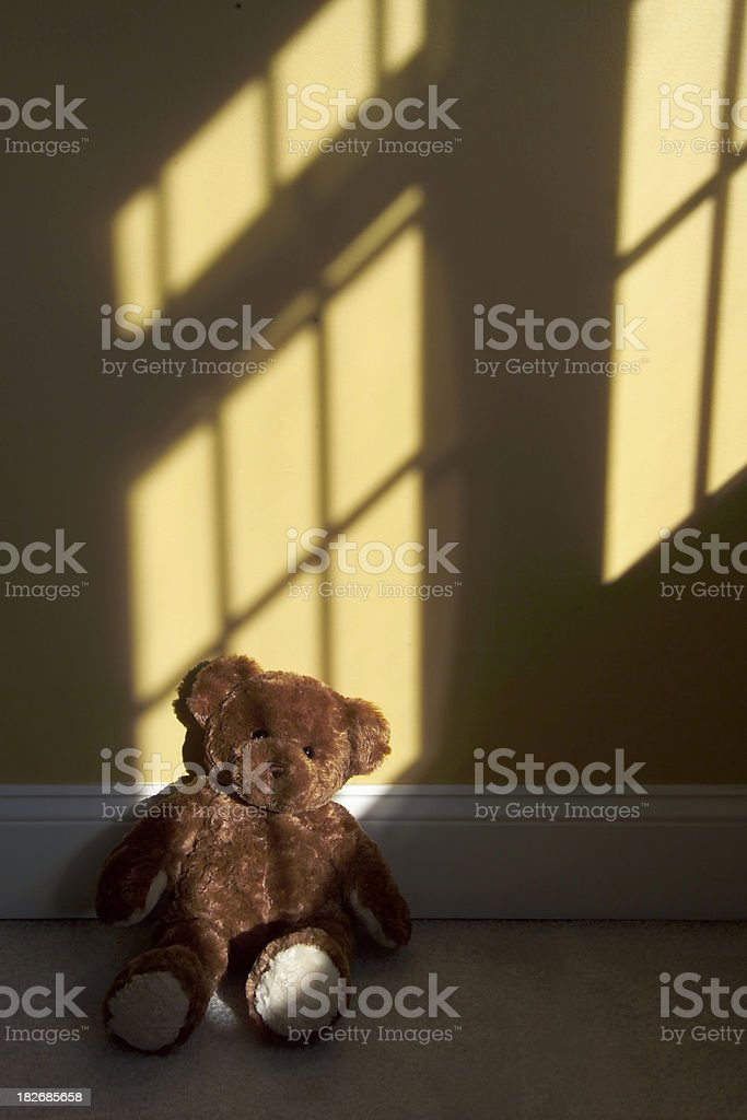 forgotten bear royalty-free stock photo