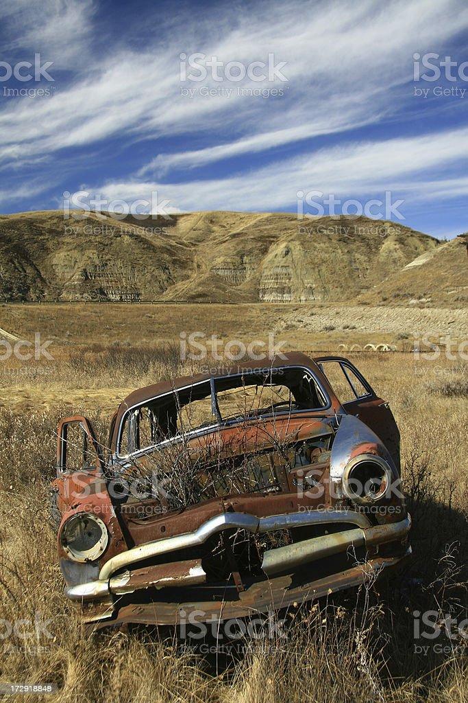 Forgotten Car stock photo