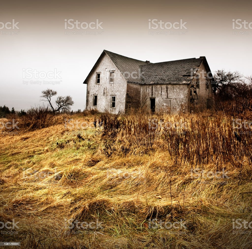 Forgotten Home royalty-free stock photo