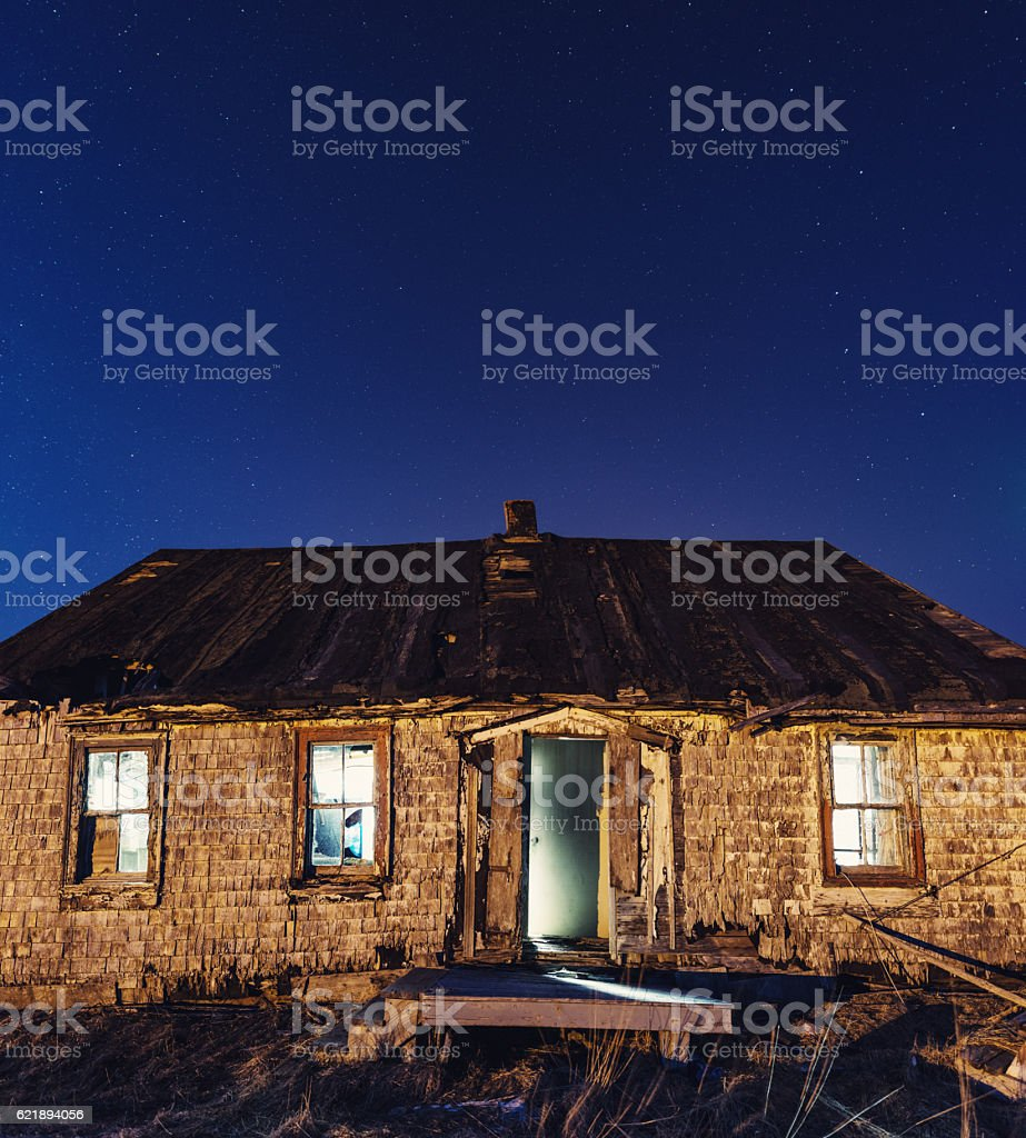 Forgotten Light stock photo