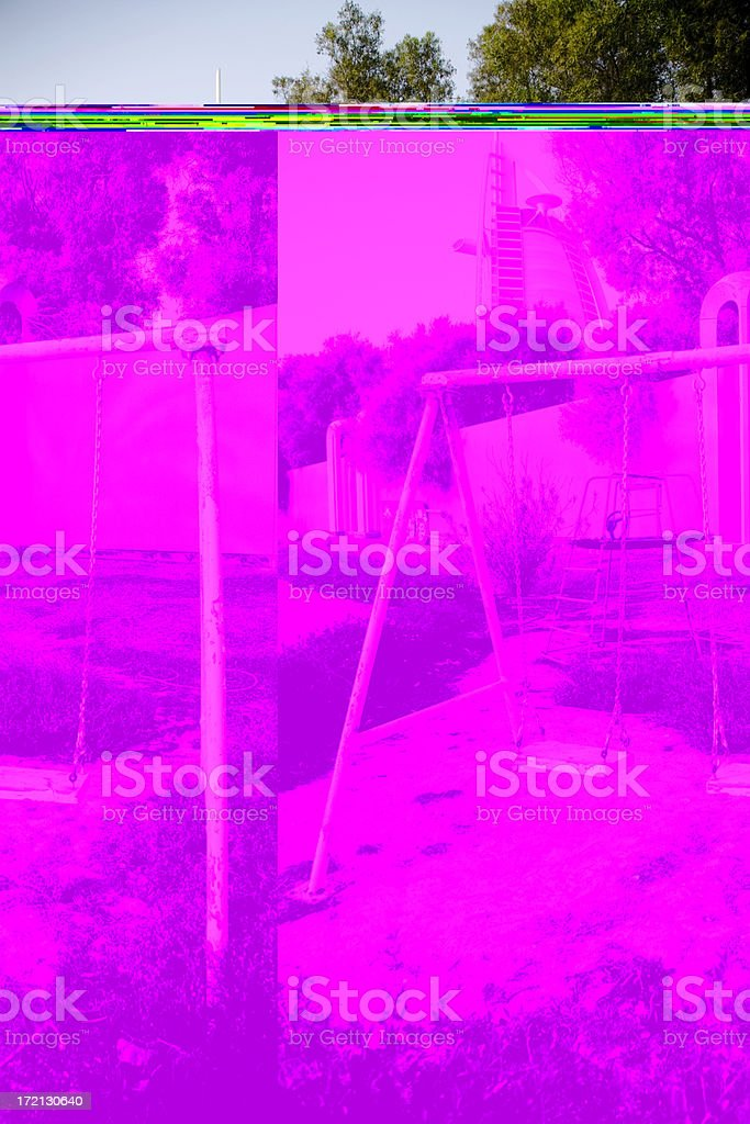 Forgotten Playground Dubai royalty-free stock photo