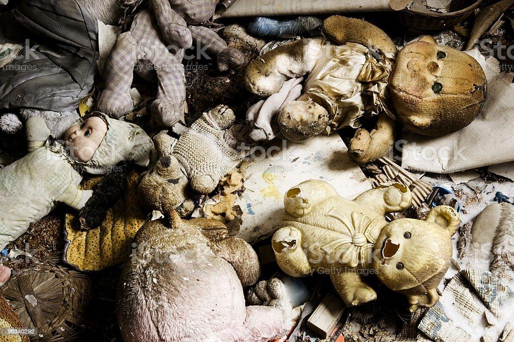 Forgotten Toys royalty-free stock photo