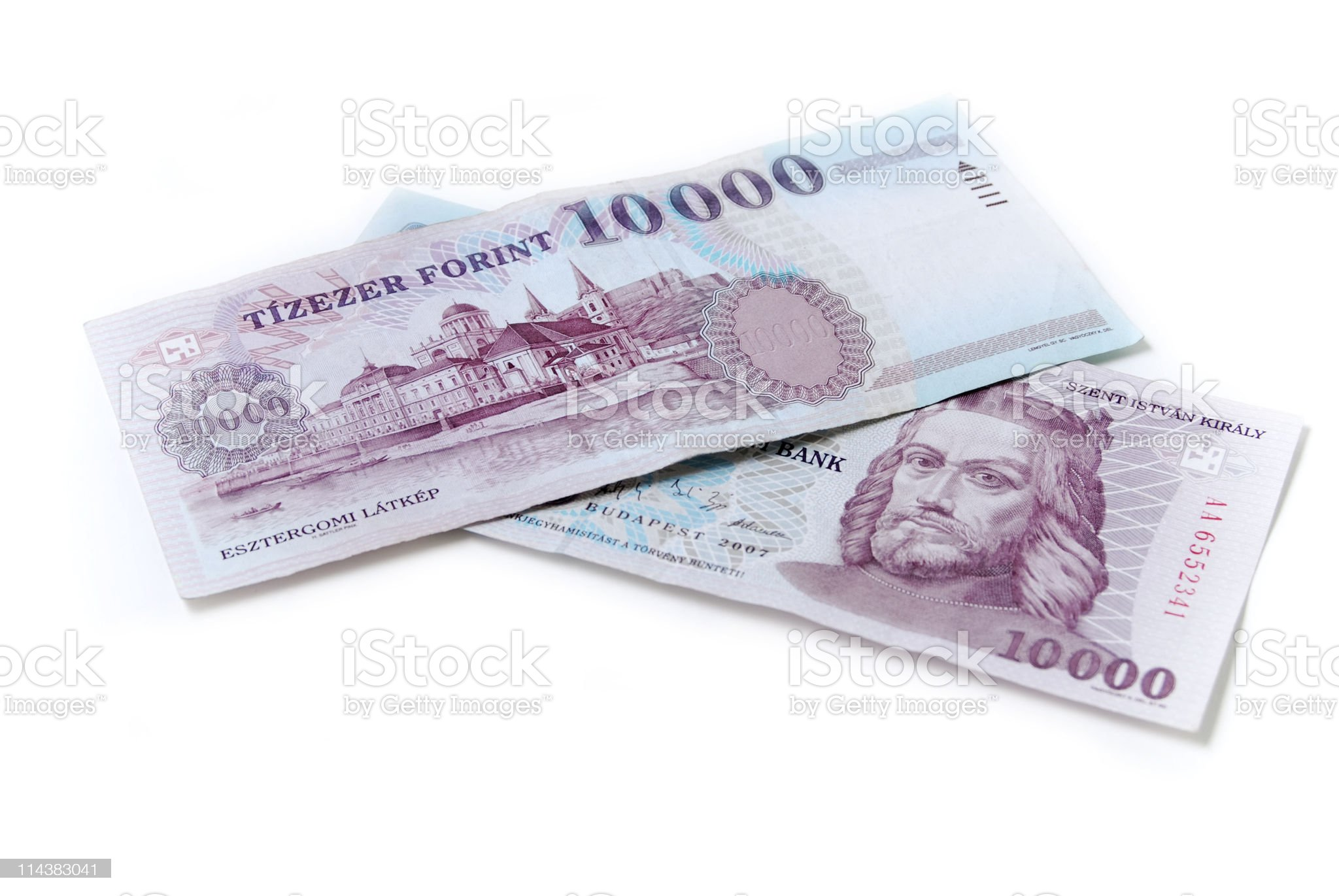 forint royalty-free stock photo